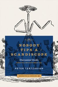 Book cover for Nobody Tips a Scandiscope