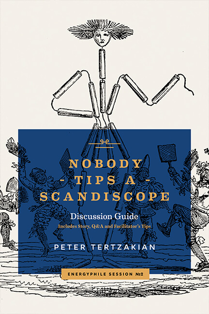 Book cover for Nobody Tips a Scandiscope<