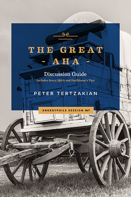 Front cover of The Great Aha by Peter Tertzakian